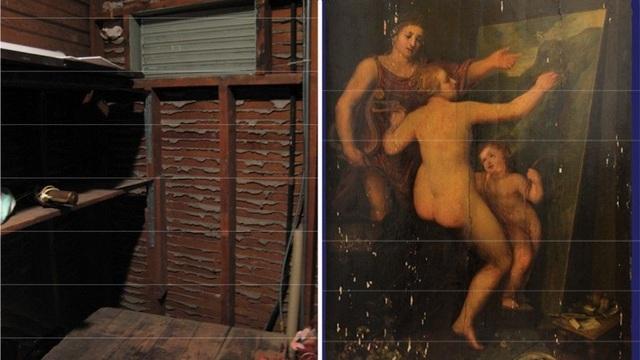 Bức họa trị giá hàng triệu USD vô tình được tìm thấy trong một căn phòng chứa đồ cũ