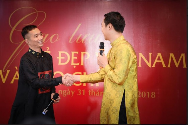 NTK Đỗ Trịnh Hoài Nam và Đạo diễn Quang Tú.