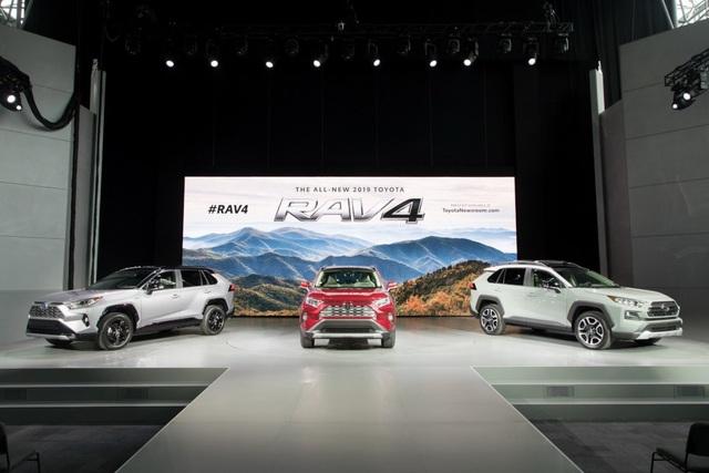 Toyota RAV4 thế hệ mới (Ảnh: Carscoops)