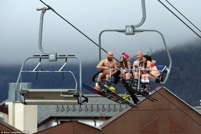 Sự kiện lần này đã phá kỷ lục cũ của thế giới về lượng người trượt đường tuyết dốc