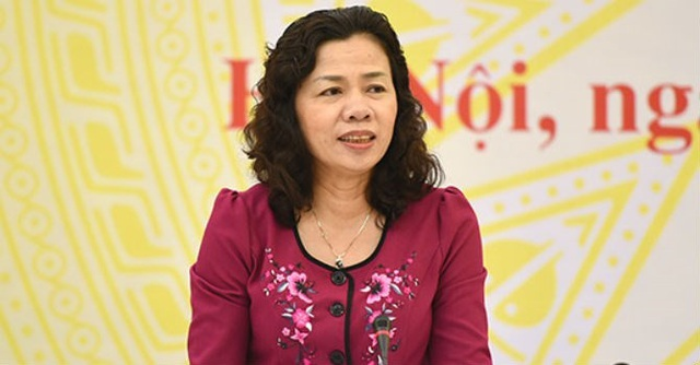 Bà Vũ Thị Mai, Thứ trưởng Bộ Tài Chính