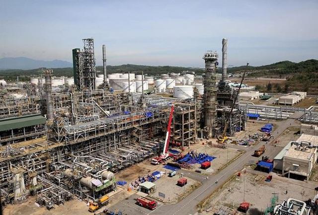 Công ty Lọc hóa dầu Bình Sơn, đơn vị được giao quản lý, vận hành Nhà máy lọc dầu Dung Quất, được kiểm toán chỉ ra mức chênh lệch vốn nhà nước hơn 4.586 tỷ đồng. Ảnh: CTV.