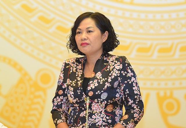 Bà Nguyễn Thị Hồng, Phó Thống đốc Ngân hàng Nhà nước Việt Nam.