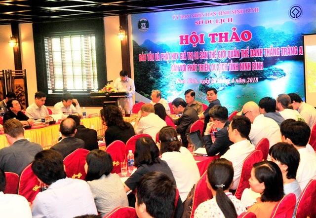 Đông đảo nhà khoa học, các nhà quản lý trong nước và quốc tế tham dự cuộc hội thảo.