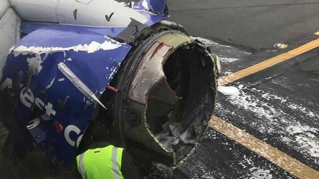 Cận cảnh chiếc máy bay gặp sự cố khiến nữ hành khách bị hút ra ngoài và tử vong