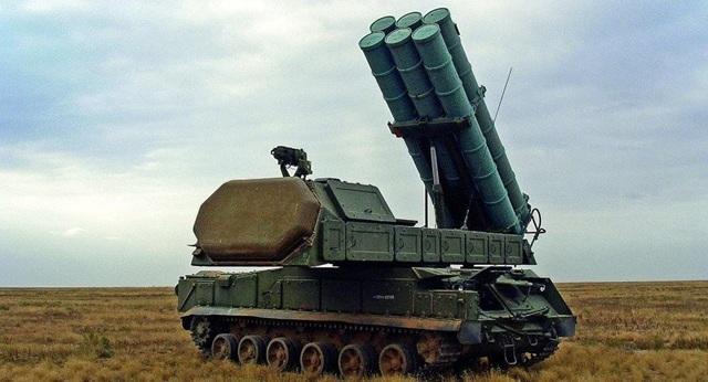 Hệ thống phòng thủ tên lửa Buk của Nga (Ảnh: Sputnik)