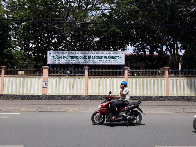 Hiện có 135 học sinh đang theo học tại GWIS Quảng Ngãi