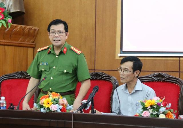 Vụ việc xuất hiện nhiều tình tiết mới, công an tỉnh đang điều tra, đại tá Lê Vinh Quy thông tin