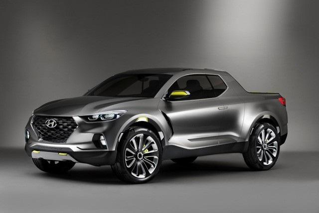 Hyundai thong thả với dự án xe bán tải Santa Cruz - 1