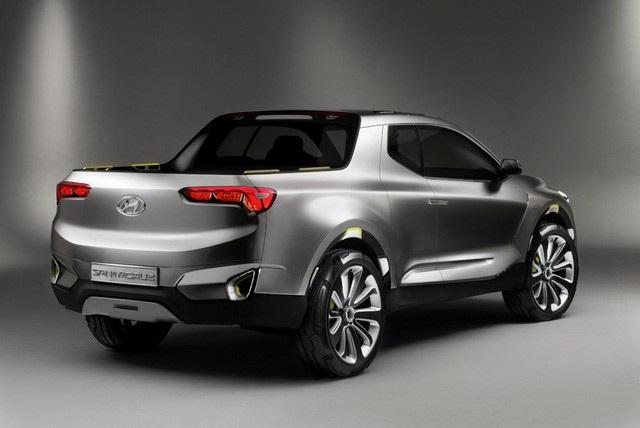 Hyundai thong thả với dự án xe bán tải Santa Cruz - 4