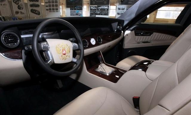 Nội thất của một mẫu xe nằm trong dự án Kortezh