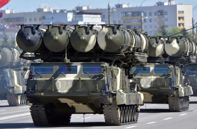 Một tổ hợp S-300 của Nga (Ảnh: Sputnik)