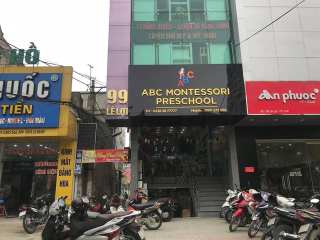 UBND phường Lê Lợi, với cương vị quản lý đã ra Quyết định đình chỉ hoạt động cơ sở mầm non tư thục ABC.
