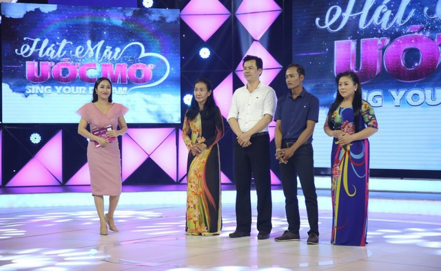 Các thí sinh tham gia Hát mãi ước mơ trong tập 8.