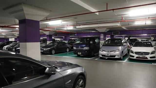 Một chỗ để xe trong chung cư Ultima tại Hong Kong được cho thuê với mức giá gần 30 triệu đồng/tháng. (Nguồn: SCMP)