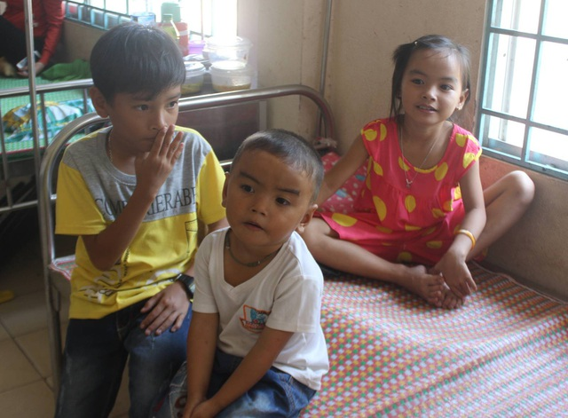 3 cháu đều bị bệnh Thalassemia