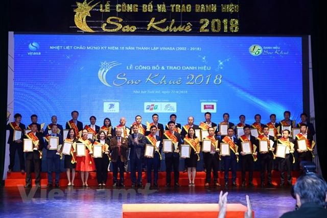 Sao Khuê 2018 vinh danh và trao giải cho 73 sản phẩm, dịch vụ CNTT xuất sắc