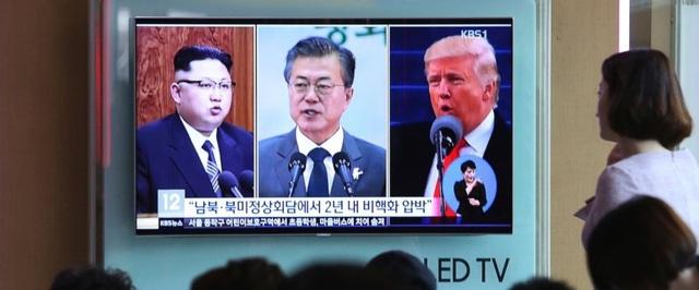 Tuyên bố dừng thử vũ khí của ông Kim Jong-un được đưa ra trước thềm cuộc gặp cấp cao với Mỹ và Hàn Quốc (Ảnh: ABC)