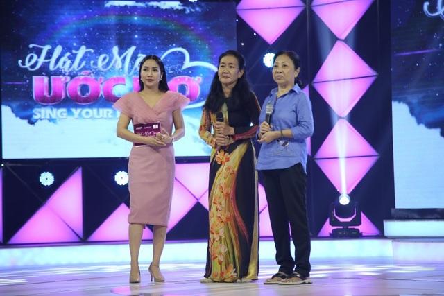 Bà Lệ Châu và người bạn Quế Trang.