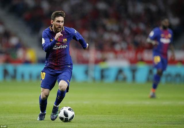 LIonel Messi đã có một trận đấu đây hiệu quả và sắc sảo