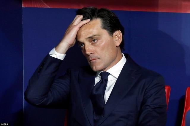 Nỗi buồn của HLV Montella, Barcelona quá mạnh so với Sevilla