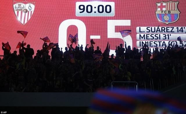 Barcelona thắng Sevilla đến 5-0 tại Metropolitano, kết quả khiến nhiều người bất ngờ