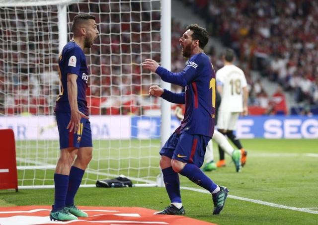 Lionel Messi cũng có một trận đấu chói sáng trên sân Metropolitano