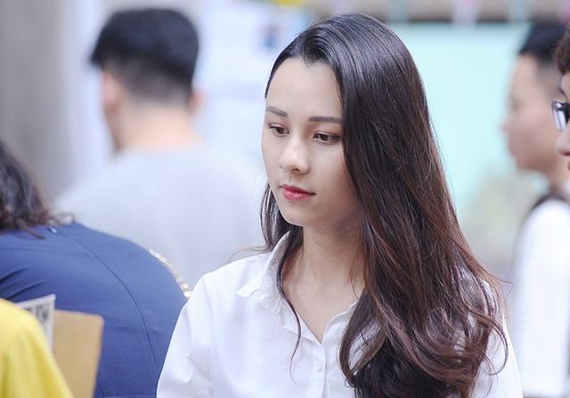 Thu Trang hiện đang là sinh viên năm thứ 3 khoa Phát thanh - Truyền hình