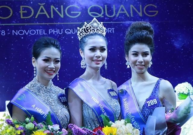 Top 3 Hoa hậu Biển Việt Nam toàn cầu xuất hiện sau đăng quang
