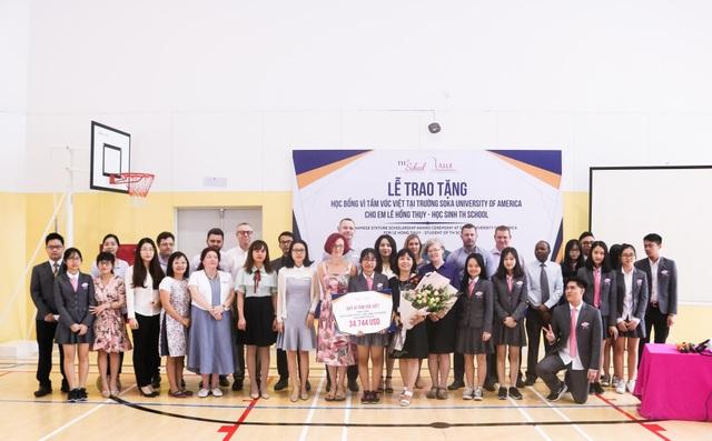 Nữ sinh Bình Dương đạt học bổng 34.744 USD từ Quỹ Vì tầm vóc Việt - 2