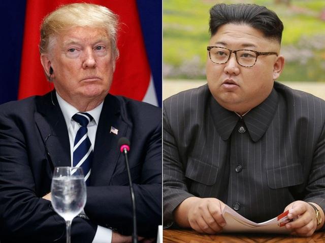 Tổng thống Mỹ Donald Trump và nhà lãnh đạo Triều Tiên Kim Jong-un (Ảnh: ABC News)