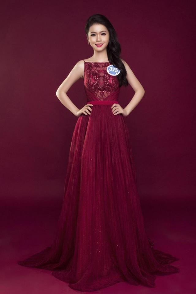 Những hình ảnh của Kim Ngọc khi còn là thí sinh tại cuộc thi Hoa hậu Đại dương 2017