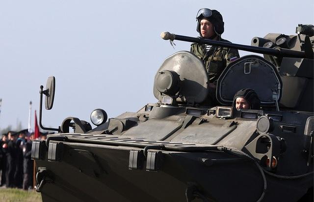 Hơn 55.000 binh sĩ và 1.200 khí tài sẽ tham gia vào lễ duyệt binh trên khắp nước Nga dịp kỷ niệm 73 năm Ngày Chiến Thắng vào 9/5 tới đây. (Ảnh: TASS)