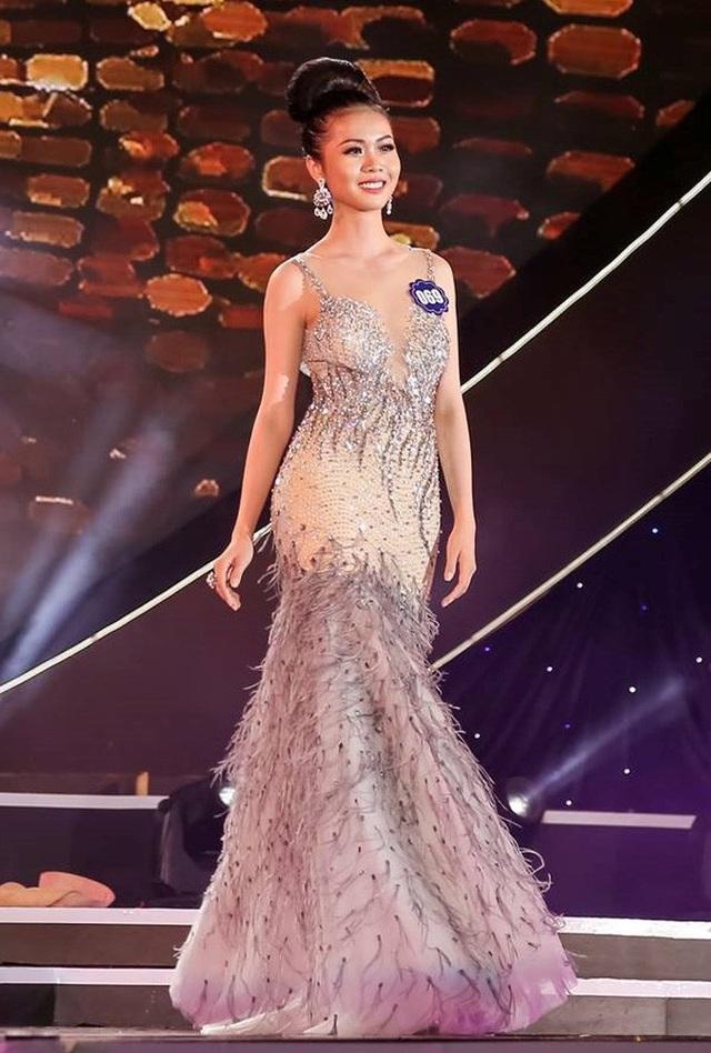 Tuy không phải là nhan sắc được đánh giá cao nhất trong cả cuộc thi nhưng so với Top 5 thì người đẹp 19 tuổi đến từ Tiền Giang lại là một trong những thí sinh có vẻ ngoài phù hợp với ngôi vị Hoa hậu.