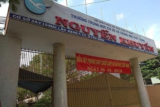 """Trường Nguyễn Khuyến bị tố như """"trại lính"""": Mặt trái của kinh doanh giáo dục - 1"""