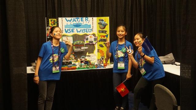 Đội tuyển học sinh tiểu học của Việt Nam đến từ trường Phổ thông Song ngữ quốc tế Wellspring Hà Nội