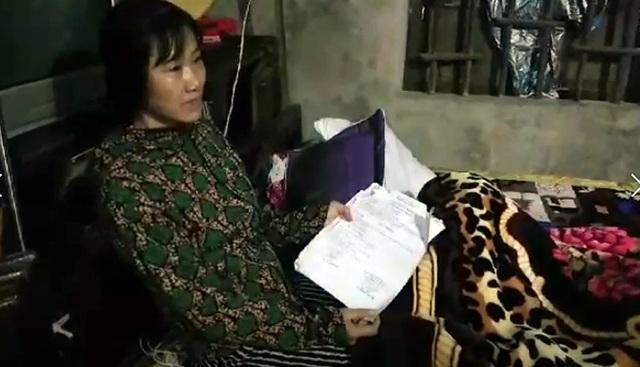 Chị Chi, mẹ Nhật bị bệnh ung thư tuyến giáp, sức khỏe đang rất yếu