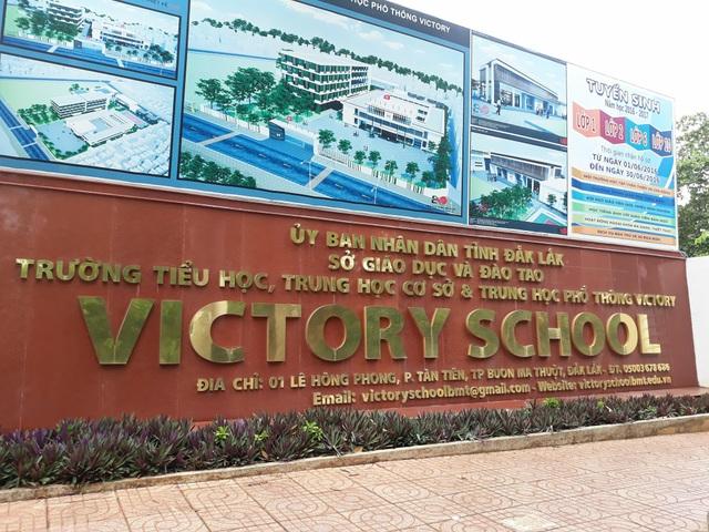 Trường Tiểu học - THCS - THPT Victory là đơn vị duy nhất của tỉnh Đắk Lắk liên kết với trường quốc tế ma GWIS.