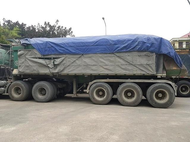 """Ninh Bình: CSGT mạnh tay dẹp """"binh đoàn"""" xe quá tải sau phản ánh của Báo Dân trí! - 2"""