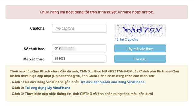 Nhà mạng gia hạn đăng ký, người dùng có thể cập nhật ảnh tại nhà - 2