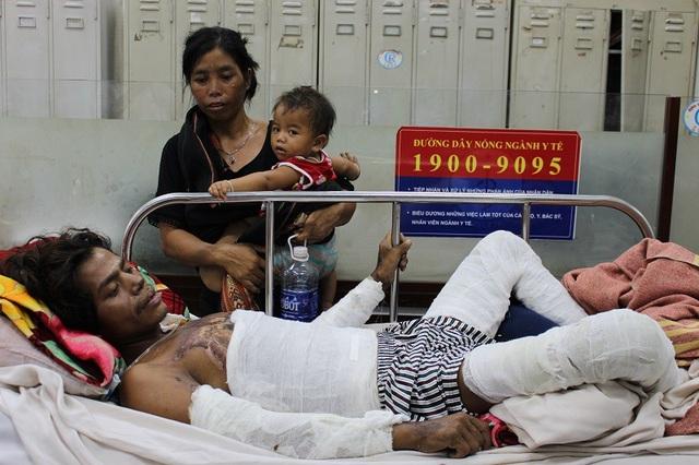 Anh Lan Hap chuyển viện trong tình trạng nhiễm trùng, nhiễm độc nặng