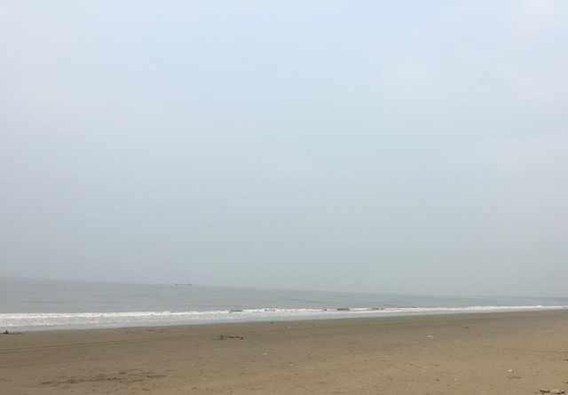 Bãi biển Hải Tiến còn khác hoang sơ
