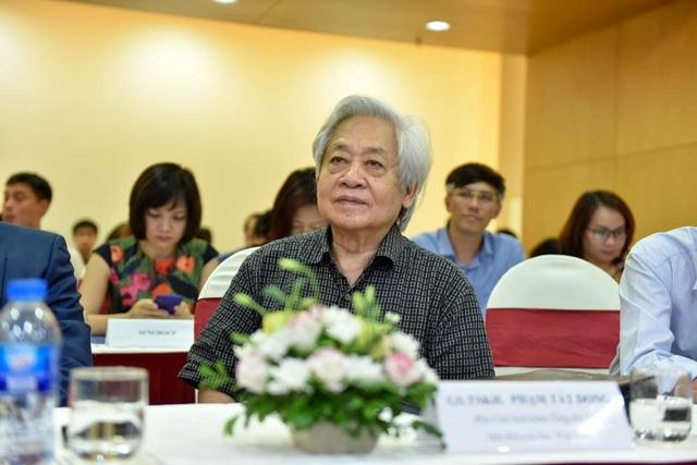 GS.TS Phạm Tất Dong - Phó chủ tịch kiêm Tổng Thư ký Hội khuyến học Việt Nam.
