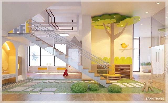 Trường Sunshine Maple Bear trang bị những cơ sở vật chất tốt nhất cho tương lai con em.