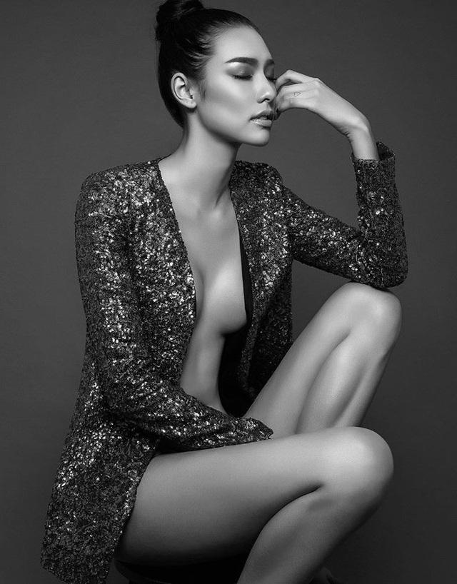 Về thần thái và độ nóng bỏng, Lilly Nguyễn không thua kém bất kỳ người mẫu chuyên nghiệp nào tại Việt Nam