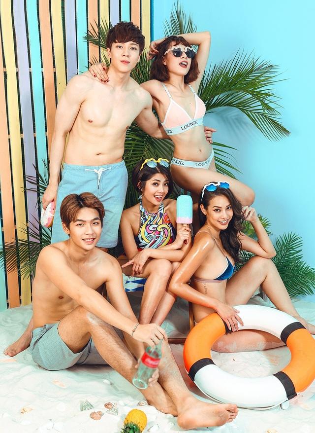 Lilly Nguyễn táo bạo và rạng rỡ bên các đồng nghiệp của mình trong bộ ảnh mùa hè.