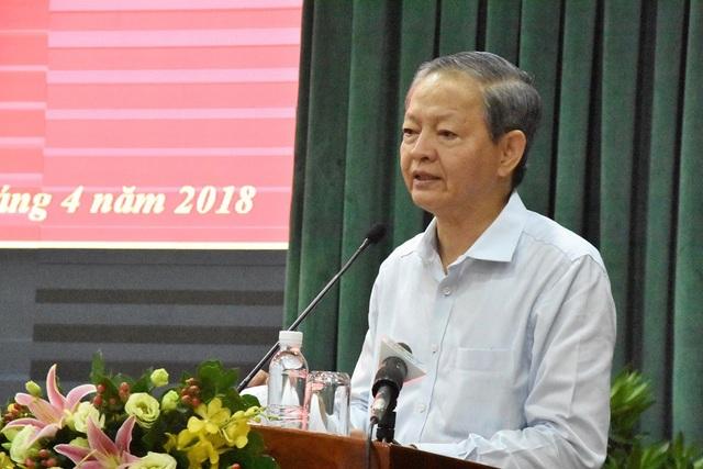 Ông Lê Văn Khoa cho biết vì không đảm bảo sức khỏe nên xin thôi chức