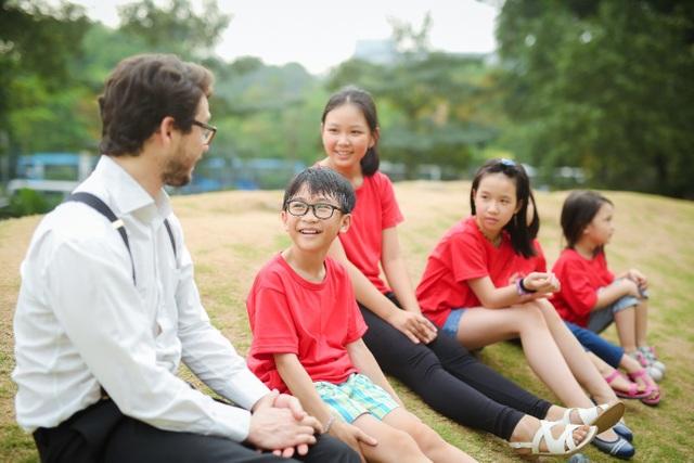 Trại hè tiếng Anh, nơi đáp ứng đầy đủ tiêu chí về việc chơi mà học, học mà chơi của các con