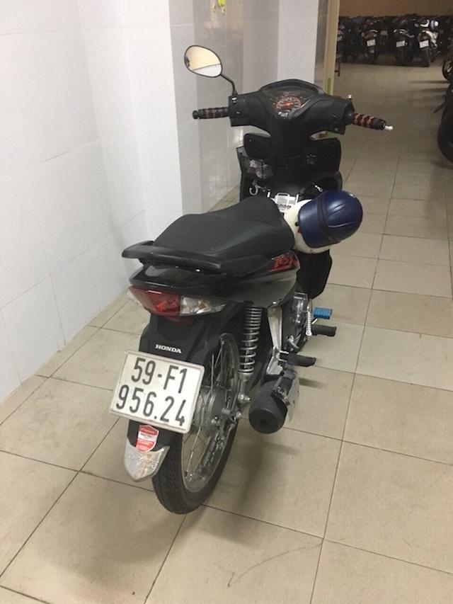 Chiếc xe máy mà Thái dùng để đi cướp