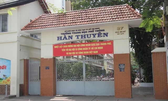 Trường THPT Hàn Thuyên, quận Phú Nhuận, TPHCM